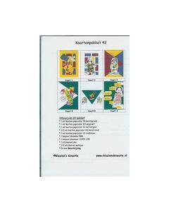 Klazien's Kreatie Kaartenpakket 42 clown-kuiken_small