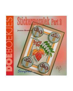 Doeboekjes Stickermozaiek part 2 met gratis stickervel