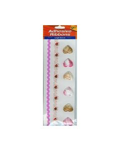 Adhesive Ribbons Rose-Hartjes 4.603.028_small