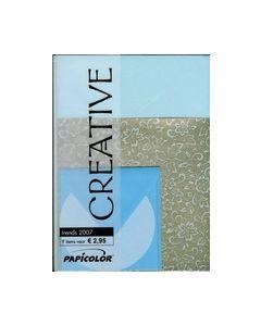 Papicolor papier pakket Blauw 547004_small