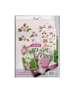 3D-set Ceciel 4.005.505 Rose_small