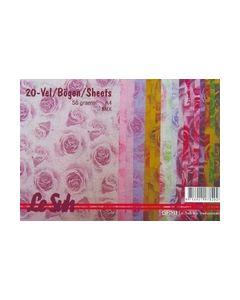 Le Suh pakket papier met kleine Rozen 412621_small