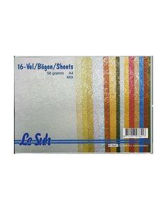 Le Suh pakket Glanspapier kleine bloemen 412641_small