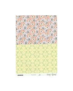 Marij Rahder Achtergrond vel bloemen V2450_small