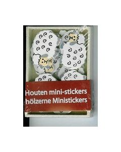Houten mini-stickers BH242099 Schapen_small