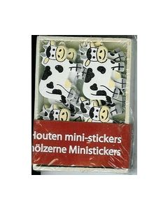 Houten Mini-stickers BH242299 Koeien_small