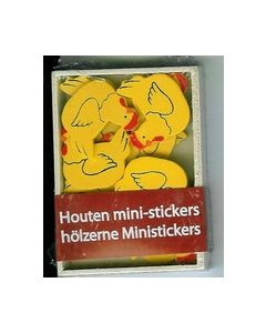 Houten mini-stickers BH242799 Kippen_small