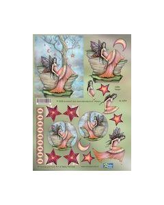 Fantsy and Fairy art knipvel GL 6054_small