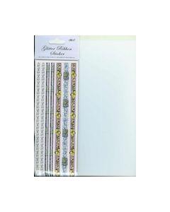 Glitter Ribbon Sticker FSG-400_small
