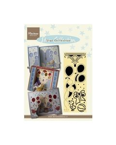 Star Collection stencils Party PD 0001 marianne design_small