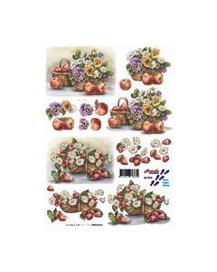 Nouvelle 3D knipvel 821592 Bloemen_small