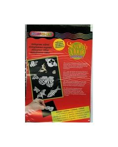 Scratch-art Hologram zilver 115632 1803_small