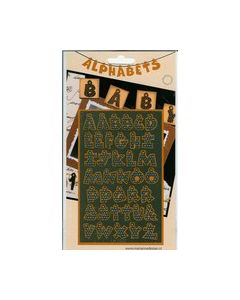 Alphabets Letters Zilver LH 0502_small