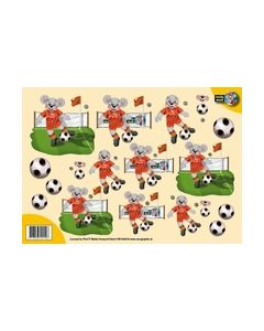 Creddy World 3D vel Voetbal CW10005_small