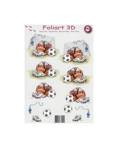 Foliart 3D voetbal 542_small