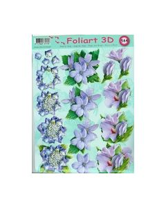 Foliart 3D 584 Lila Paars_small