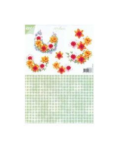 Joy crafts 6010 1010 Flowers Narcis_small