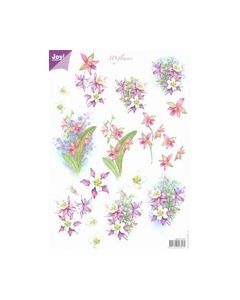 Joy crafts 6010 1007 3D Flowers_small