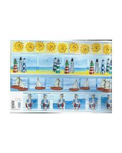 Shake IT Borders IT 448 Zon vuurtoren zeilboot zeeman_small