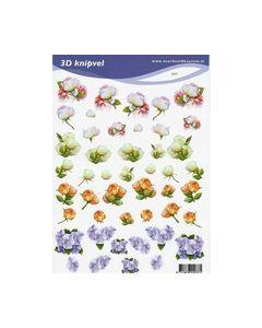 Voorbeeldkaarten 3d knipvel 2037 Bloemen_small