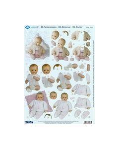 Schildkrot 3D knipvel 830035 baby poppen_small