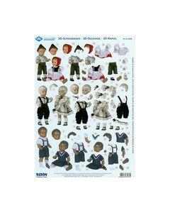 Schildkrot 3D knipvel 83036 poppen kinderen_small