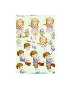 Morehead 3D knipvel 11052-084 Meisje Jongen_small