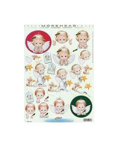 Morehead 3d knipvel 11052-079 Meisje Kerst_small