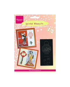 Geisha Stencils MG0842 Lapion lamp_small