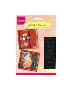 Geisha Stencils MG0843 Tekens Letters_small