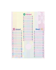 Knutselkalender Blossom 85060B_small