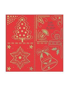 Betsy's Kerstmallen WL 8027 Denneboom Klok Ster_small