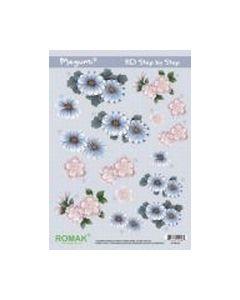 Megumi Knipvel 3D PO-000-03 Bloemen_small