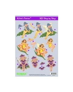 Riva's Fairies Romak 3D step by step Elfjes PO-300-16_small