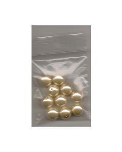 Parel 12 mm Champagne 10 stuks PR6060_small