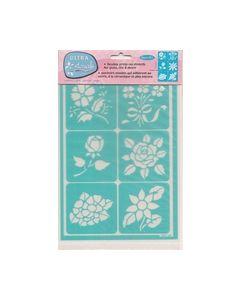 Ultra Stencils Decoart UST20 Florals_small