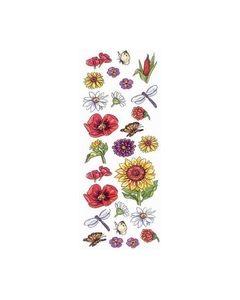3-D pergamano bloemen 3019_small