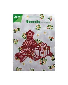 Joy Stencil Kerstboom 6001 0090_small