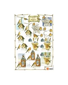 Tiny IT 541 3D knipvel marianne Design Kerst vogels_small