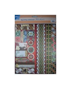Joy Sparkling embossed Stickers Kerst 6 6013 0018_small
