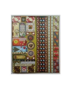 Joy Sparkling embossend Stickers Kerst 7 6013 0019_small