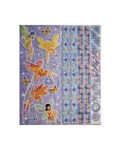 Joy Sparkling embossend Stickers 6013 0020 elfjes_small