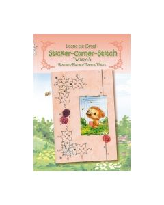 Sticker-Corner-Stich Bloemen 978-90-5945-121-6_small