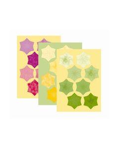 Rozetten 51.5434 groen geel rood-paars_small