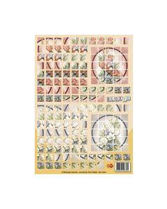 Boxxx 3D knipvel BLX 10004 Bloemen_small
