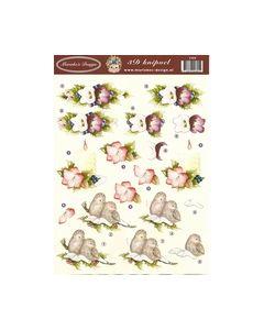 Marieke's Design knipvel kerstvel 2305_small