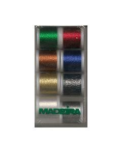 Madeira Metalic Supertwist Assorti doos 8 kleuren 8010_small