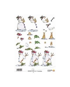 Ollyfant 3D knipvel 117145 1205 sneeuwpop_small