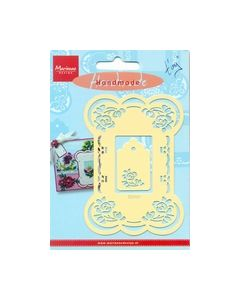 Handmade engelse embossing mal Roses EE3451 Tiny_small