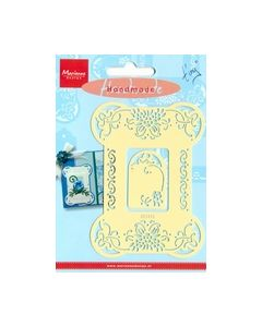Handmade engelse embossing mal Flowers EE3452 Tiny_small